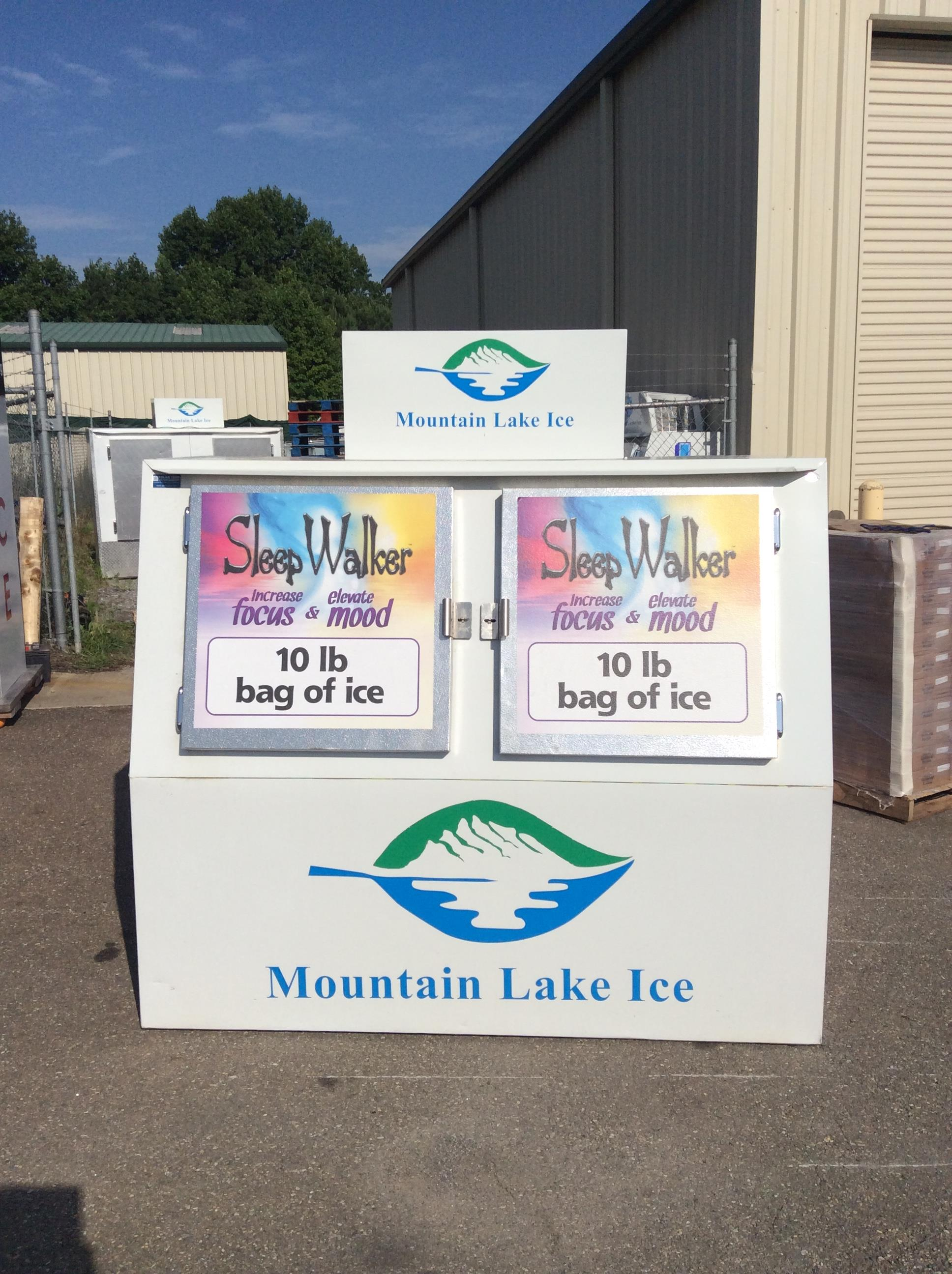 Mountain Lake Ice